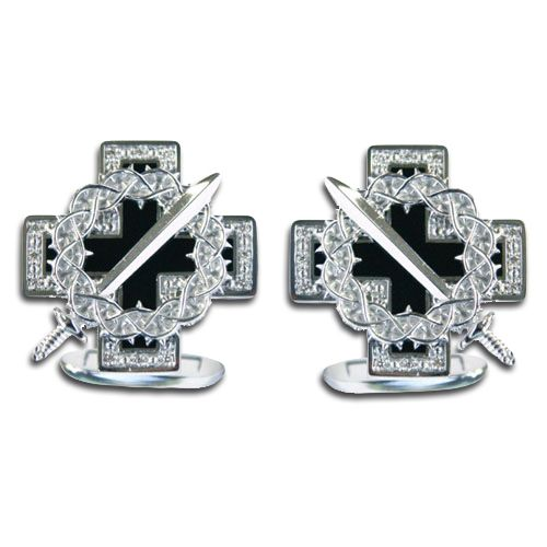 "50505098. Buy Gourji Cufflinks ""Ice and Flame"" in the online store of men's accessories and luxury gifts Gourji.ru"
