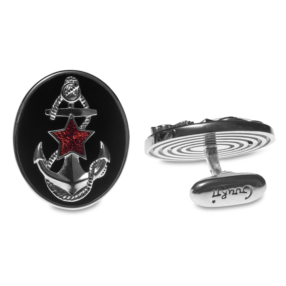 "093013900. Buy Gourji Cufflinks ""Morpekh"" in the online store of men's accessories and luxury gifts Gourji.ru"