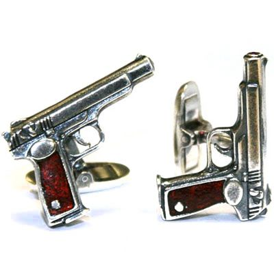 "093012150. Buy Gourji Cufflinks ""Gun"" in the online store of men's accessories and luxury gifts Gourji.ru"