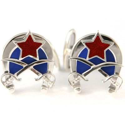 093012600. Buy Gourji 'Horses and Sabres' cufflinks in the online store of men's accessories and luxury gifts Gourji.ru